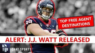 JJ Watt Released: Top 5 NFL Teams That Could Sign Former Houston Texans Star DT In 2021 Free Agency