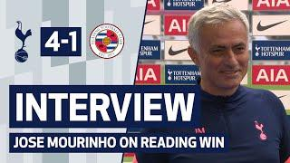 INTERVIEW | JOSE MOURINHO ON READING WIN