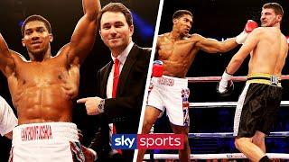 Anthony Joshua's FIRST professional boxing fight  | FIGHT REWIND