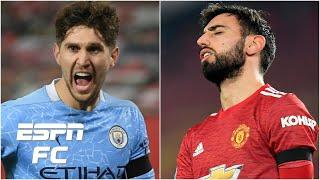 Man City 'COMPLETELY OUTPLAYED' Man United in Carabao Cup semifinal - Craig Burley | ESPN FC