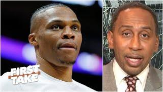Stephen A. thinks Russell Westbrook is the key to the Rockets winning a championship | First Take