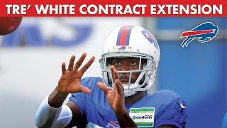 Tre'Davious White on Week 1, the AFC East, & Contract Extension | Good Morning Football