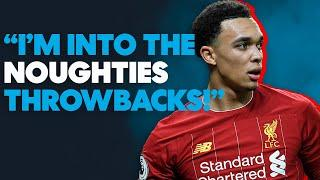 Who is the FUNNIEST in the Liverpool WhatsApp group? Trent Alexander-Arnold | The Last 5 |