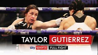FULL FIGHT! Katie Taylor drops & outclasses Miriam Gutierrez to remain undisputed world champion