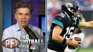 PFT Props: More yards for Minshew or Fitzpatrick in Week 3? | Pro Football Talk | NBC Sports