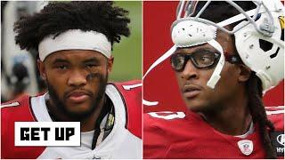 Breaking down the Kyler Murray-DeAndre Hopkins connection in the Cardinals' Week 1 win | Get Up