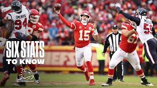 Six Stats to Know | Chiefs vs. Texans