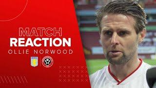 Ollie Norwood | Aston Villa v Sheffield United | Postmatch reaction interview
