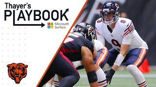 Nick Foles thrives under pressure in Atlanta | Thayer's Playbook | Chicago Bears