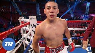 Teofimo Lopez vs. Ishwar Siqueiros   FREE FIGHT ON THIS DAY   Lopez Professional Debut
