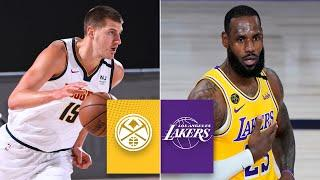 Denver Nuggets vs. Los Angeles Lakers [FULL HIGHLIGHTS] | 2019-20 NBA Highlights