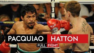FIGHT REWIND! Manny Pacquiao's STUNNING knockout over Ricky Hatton