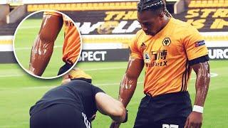 Why does Adama Traoré put baby oil on his body before matches? | Oh My Goal