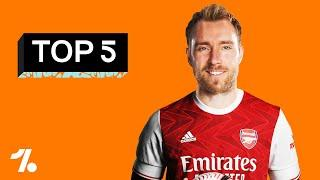 The FIVE BEST replacements for Ozil at Arsenal