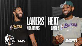 Lebron and AD: a dynamic duo | NBA Finals | Hoop Streams