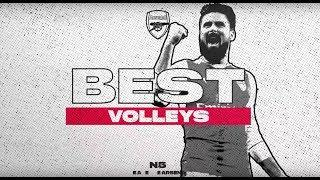The best Arsenal volleys ever! | Ozil, Giroud, Ramsey, Alexis and more...