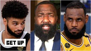 LeBron took on the challenge and locked up Jamal Murray in Game 4 - Kendrick Perkins | Get Up