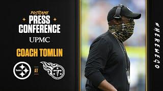 Postgame Press Conference (Week 7 at Tennessee Titans): Coach Mike Tomlin