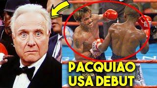 US COMMENTATORS REACT TO MANNY PACQUIAO FIRST FIGHT IN THE USA *SНОСКING*