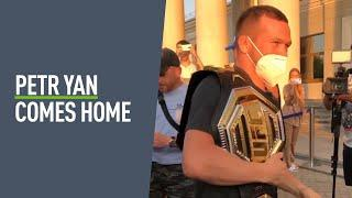 Petr Yan returns home to Russia after UFC title victory