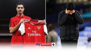 The highs and lows of Mikel Arteta's first year as Arsenal boss ️