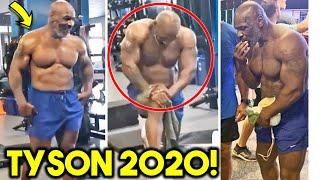 *OMG* MIKE TYSON INSANE TRAINING CAMP FOOTAGE+ BODYBUILDING PHYSIQUE AHEAD OF BOXING COMEBACK AT 53