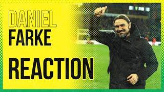 Norwich City 1-0 Leicester City | Daniel Farke Reaction