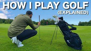 HOW I PLAY GOLF | Every shot explained
