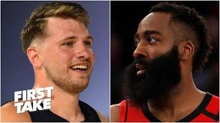 Luka Doncic vs. James Harden: Which Texas star would you rather have?   First Take