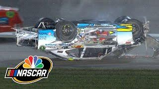 Anthony Alfredo flips, brings out red flag during NASCAR Xfinity race | Motorsports on NBC