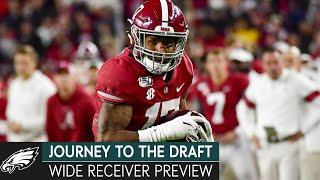 Analyzing the Top Wide Receivers in the 2021 NFL Draft | Journey to the Draft