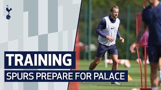 TRAINING | SPURS PREPARE FOR PALACE AT HOTSPUR WAY