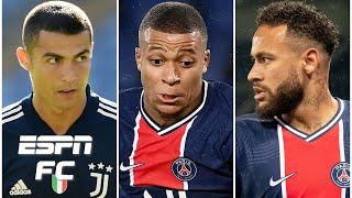 Cristiano Ronaldo to join Neymar at PSG if Kylian Mbappe leaves for Real Madrid? | Transfer Rater