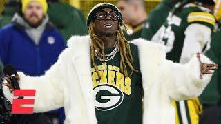 Lil Wayne talks about his love of the Green Bay Packers   Monday Tailgate