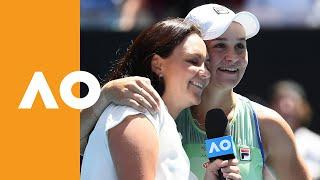 """Ash Barty: """"It's been absolutely incredible!"""" 