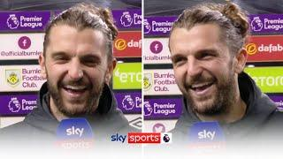 """""""Happy place happy place Turf Moor!"""" 
