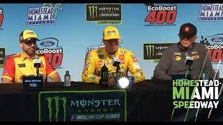 Kyle Busch: I tune out people who look at me certain ways  | NASCAR at Homestead-Miami Speedway