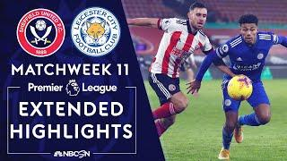 Sheffield United v. Leicester City | PREMIER LEAGUE HIGHLIGHTS | 12/6/2020 | NBC Sports