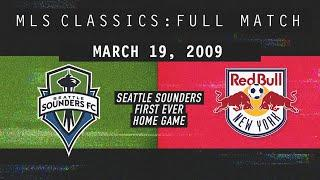 Seattle Sounders FIRST EVER HOME GAME in front of  SELL-OUT Crowd [Full Match]