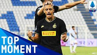 Alexis Sanchez Finishes Off a Fine Team Move | Spal 0-4 Inter | Top Moment | Serie A TIM