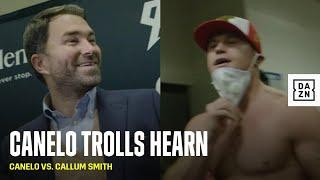 "Canelo Hilariously Asks Eddie Hearn ""Who's Next?"" Following His Victory Over Callum Smith"