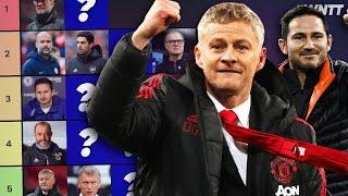 RANKING EVERY PREMIER LEAGUE MANAGER 20/21 | WNTT