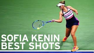 Sofia Kenin best shots | US Open 2019