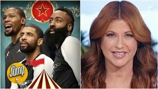 Rachel Nichols breaks down what the James Harden trade makes the Nets look like   The Jump