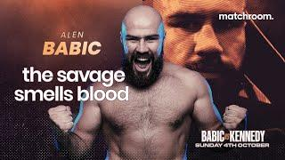 """""""I can't control when The Savage comes out!"""" - Alen Babic talks Niall Kennedy, Whyte vs Povetkin 2"""