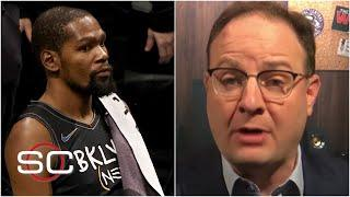 Woj on Kevin Durant being pulled from Nets vs. Raptors | SportsCenter
