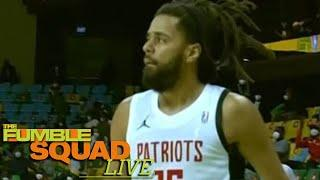 J Cole SLAMMED By African Basketball League Players For Getting Media Hype While Scoring 1pt A Game