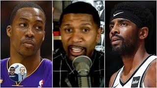 Jalen Rose reacts to Kyrie Irving & Dwight Howard's concerns about the restart of the season