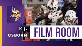 Film Room: Could K.J. Osborn's Size, Speed and Skills Earn Him the Team's Punt Returner Job?