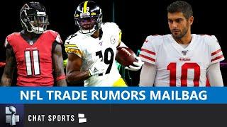 NFL Trade Rumors On Juju Smith-Schuster, Julio Jones & Jimmy Garoppolo + Clay Matthews Free Agency